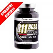 811 Bcaa unlimited 200cpr -aminoacidi ramificati ad alto tenore di leucina con vitamina B6-