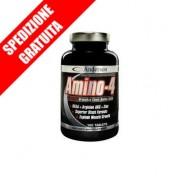 AMINO 4-COMPLEX 200compresse -aminoacidi ramificati bcaa + arginina akg + zinco + vitamina B6-