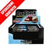 PROSHOCK 24x60gr -barretta iperproteica sostitutiva del pasto con crispies proteici e vitamine-