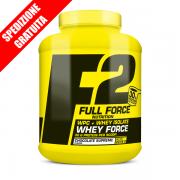 WHEY FORCE 2016g -proteine del siero del latte whey isolate concentrate a rilascio rapido-