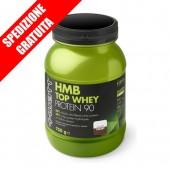 HMB TOP WHEY PROTEIN 90 750gr -proteine a rilascio rapido del siero del latte idrolizzate + hmb + vitamine