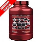 100% Beef muscle 3180gr -mass gainer con proteine della carne senza lattosio -