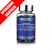 AAKG 100 caps -arginina alfachetoglutarato per il rilascio di ossido nitrico-