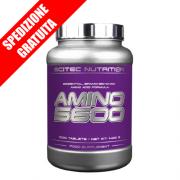 AMINO 5600 1000compresse -aminoacidi ramificati essenziali idrolizzati completi-
