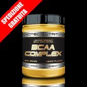 BCAA COMPLEX 8:1:1 FORMULA 300gr -aminoacidi ramificati polvere ad elevato dosaggio di leucina + glutamina-