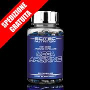 MEGA ARGININE 90caps -arginina hcl ad elevato dosaggio-