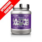 ULTRA AMINO 500caps -aminoacidi essenziali ramificati idrolizzati-